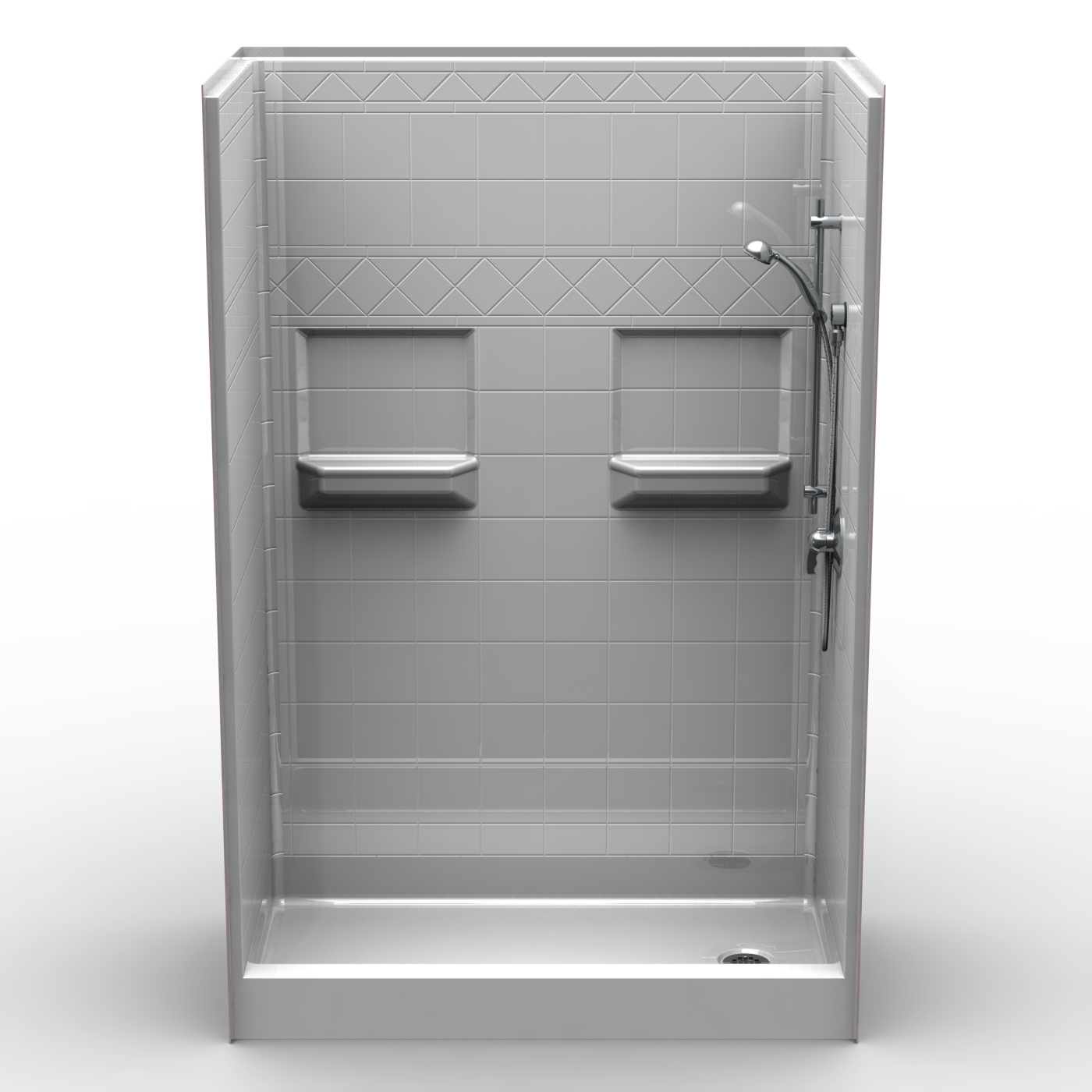5 Piece Fibergl Shower Unit 54 X