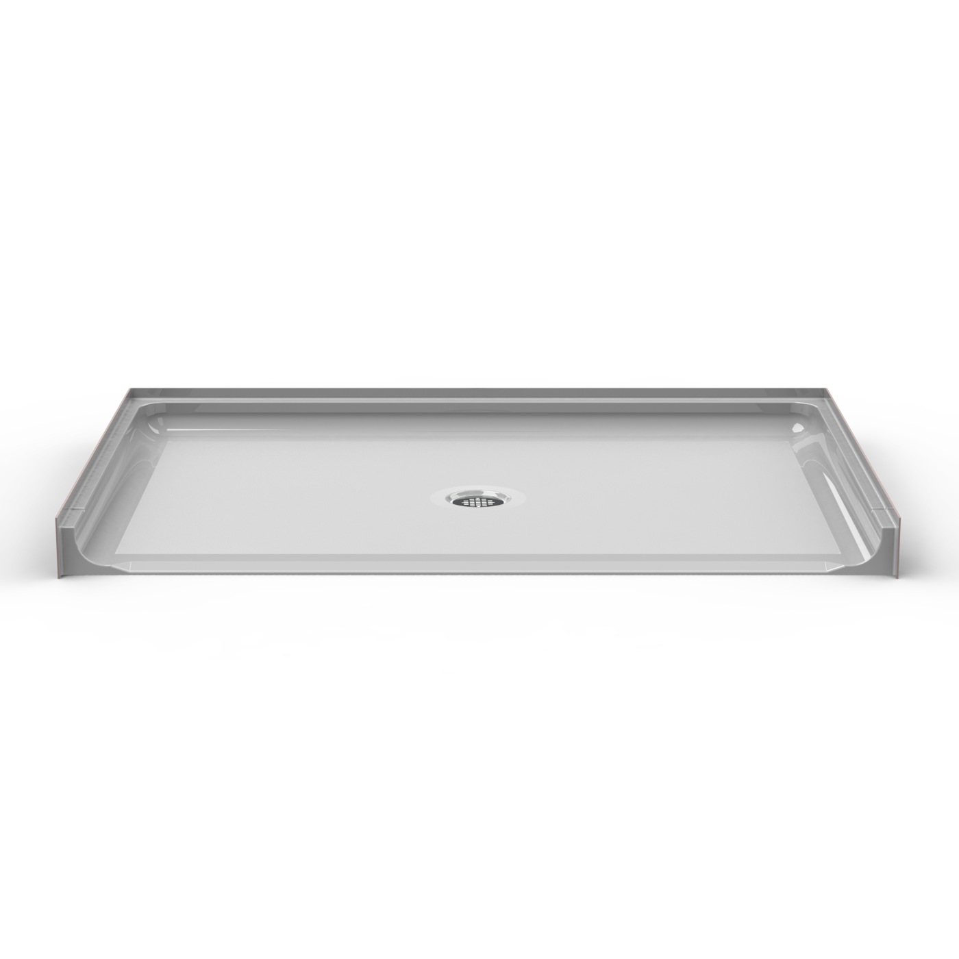 ada roll in shower pan seamless 63x42 best bath showroom. Black Bedroom Furniture Sets. Home Design Ideas